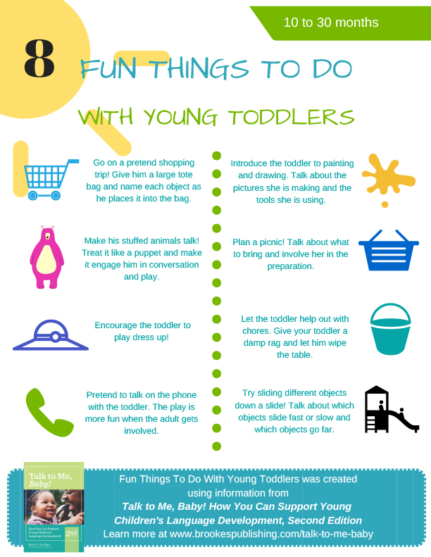 Fun things to do with young toddlers