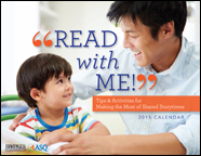 "Brookes ""Read with Me!"" Calendar: Tips & Activities for Making the Most of Shared Storytimes"